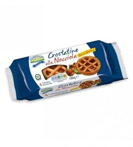 Happy Farm crostatina alla nocciola senza glutine