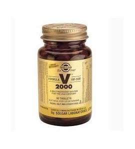 Solgar multivitaminico VM 2000 Supplement 30tav