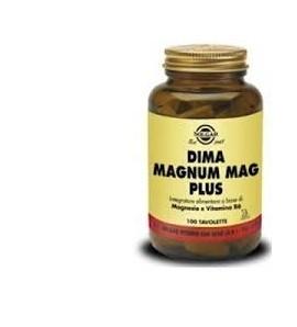 Solgar integratore Magnesio e Vitamina B6 100 tav