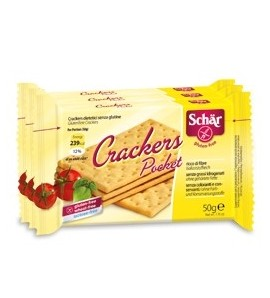 Schar Crackers pocket gluten free 3pak x50g